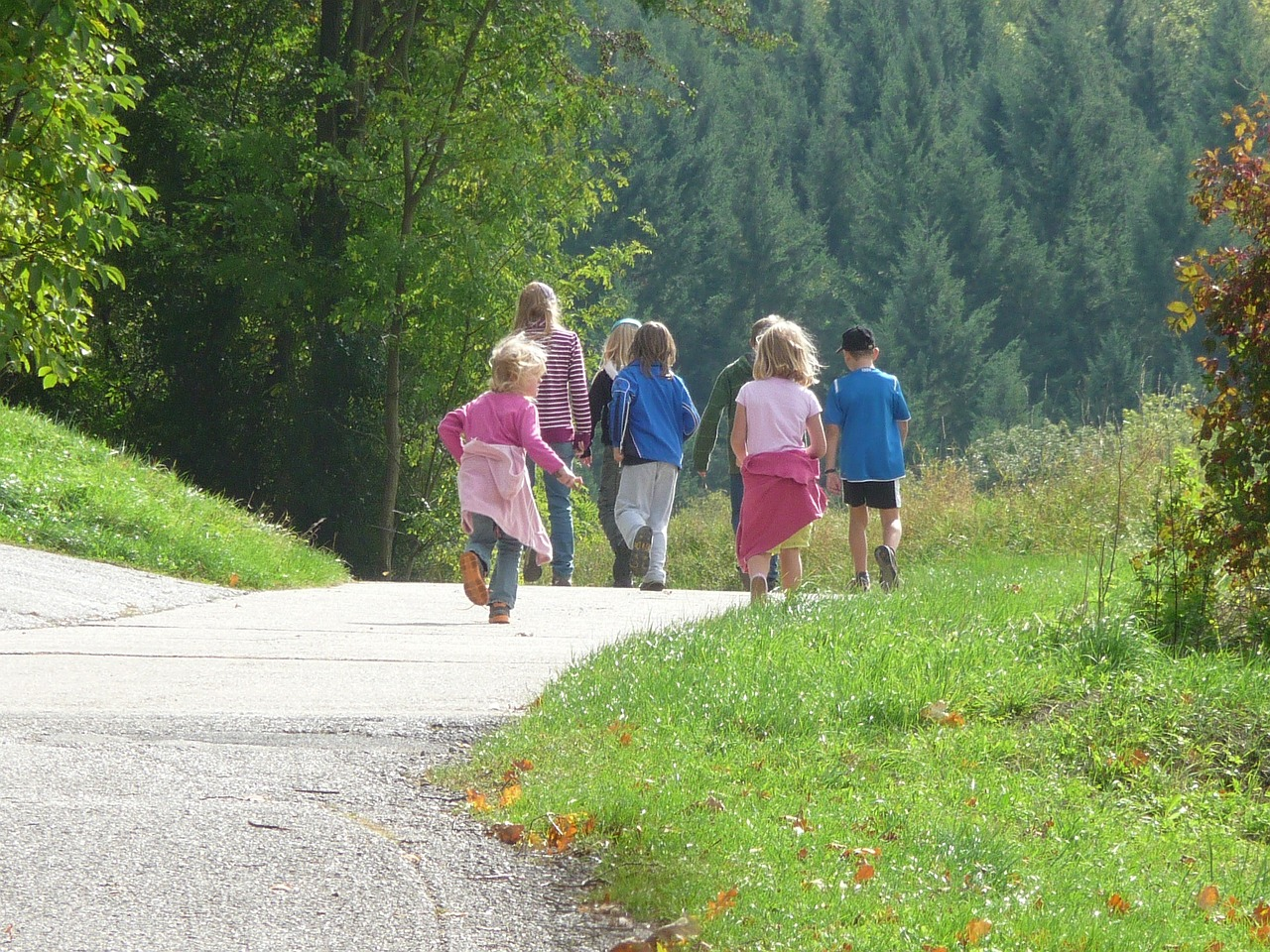 výlet děti